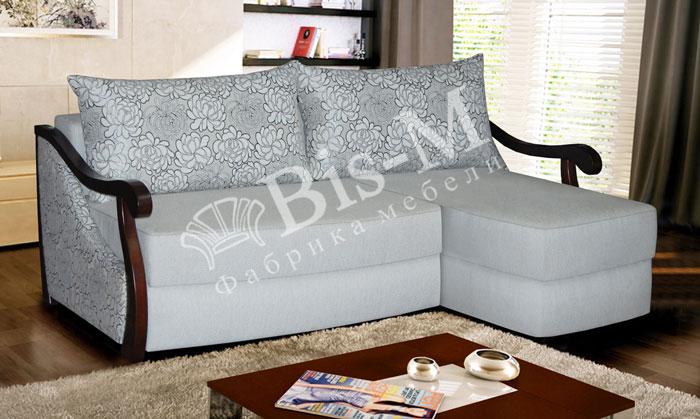 Жасмін  з отоманкою - мебельная фабрика Бис-М. Фото №2. | Диваны для нирваны