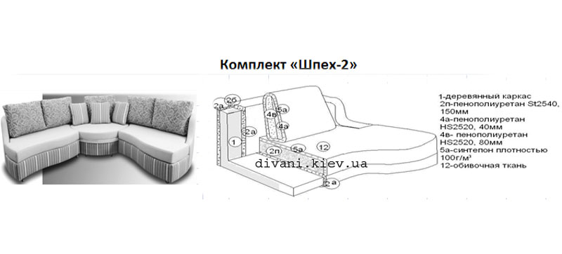 Шпех-2 - мебельная фабрика Лівс. Фото №2. | Диваны для нирваны