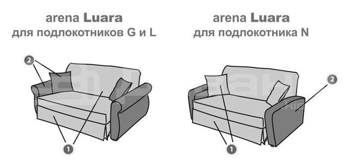 Арена Luara - мебельная фабрика AFCI. Фото №10. | Диваны для нирваны